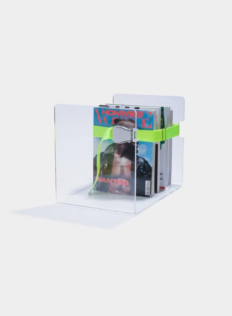"Toshi Magazinständer ""Bendix"" - Aus transparentem Acrylglas"
