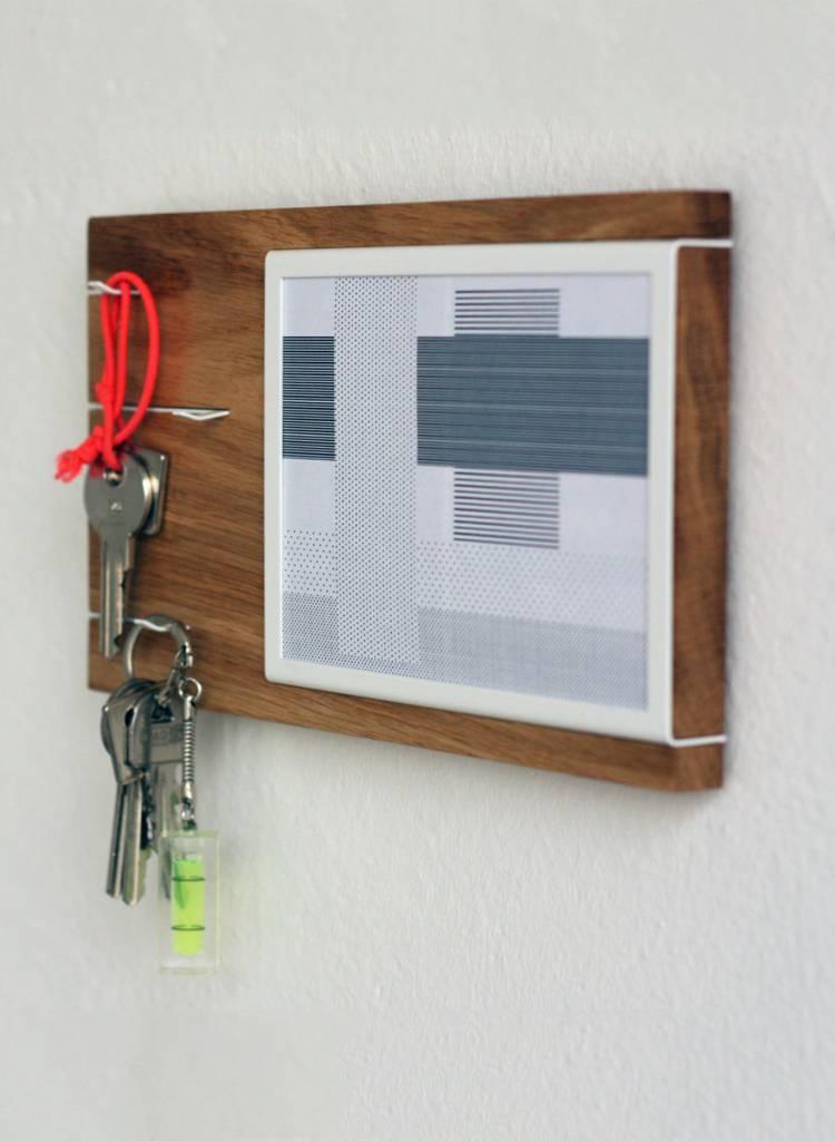 """Toshi Schlüsselbrett """"Nova Bild"""" - Gleich zwei Funktionen im Einem"""