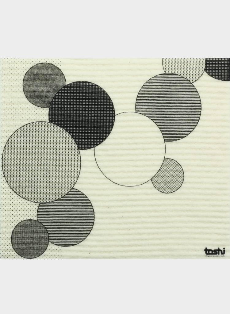 "Toshi Set of 3 sponge cloths ""Blitz"" - 100% compostable"