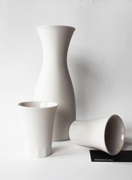 Mondocubo Karaffe & Weingläser I Handgefertigte Keramik!