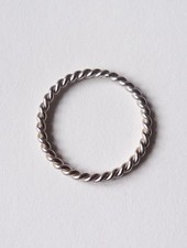 "Felicious Ring ""Twisted Silber"""