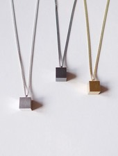 "Felicious Necklace ""Cube"""