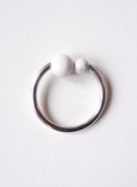 """Felicious Ring """"Balls Silver"""""""