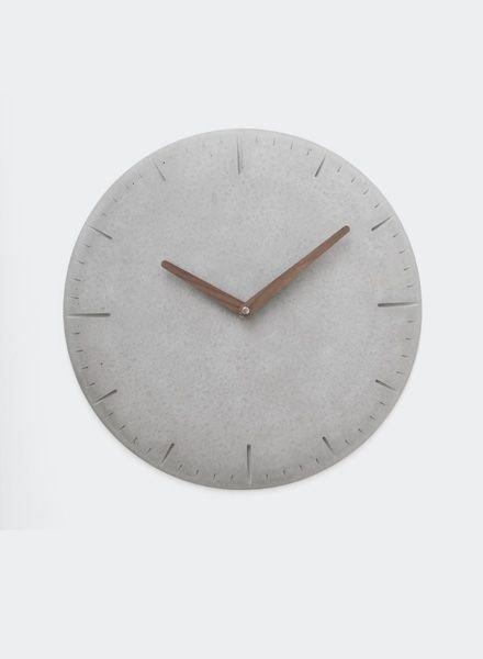 WertWerke CONCRETE CLOCK ROUND