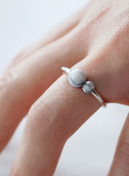"Felicious Fingerring ""Balls Silber"" - 925er Silber mit glänzender Oberfläche"
