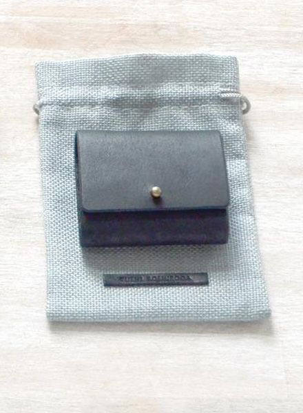 "Yushi Soshiroda Wallet ""Ori"" a small coin case made of leather in 3 different colours"