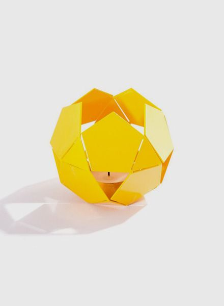 Fundamental Quintette lacquered I Tealight for self assemble