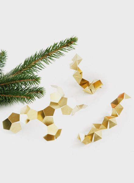 Fundamental Fragments I Christmas tree decoration to fold by yourself