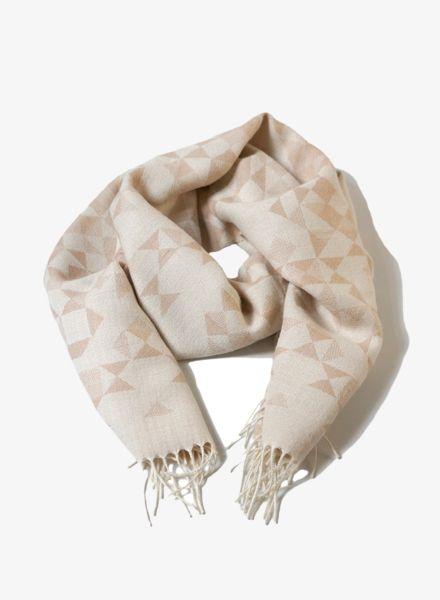 Kele Schal BEIGE: Kele Schal BEIGE für Damen und Herren in grau