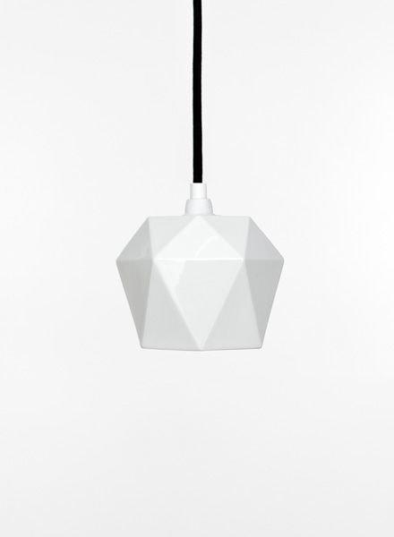 """GANTlights Lamp porcelain """"Trinagle K1"""""""