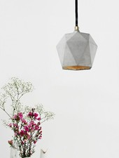 "GANTlights Lamp concrete ""Triangle T2"""