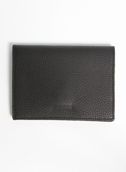 Hevan Wallet made of high quality black leather, handcrafted