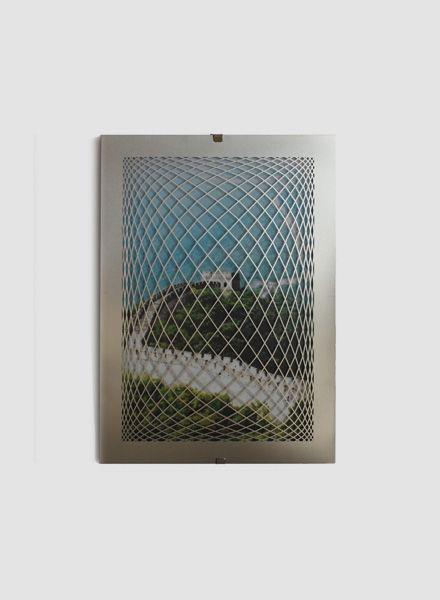 """Fundamental Bilderrahmen """"Raute Frame"""" in Stahl erhältlich in 2 Größen"""