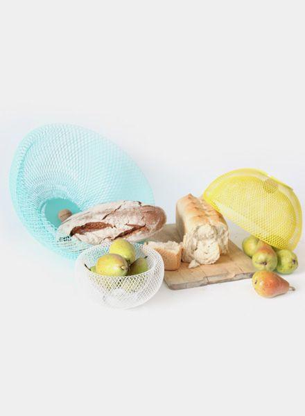 Fundamental Nest Bowl MINT - Obstschale oder Lampenschirm aus pulverbeschichtetem Stahlgeflecht