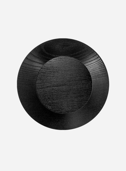 """Objekte unserer Tage Wandhaken """"Hoffmann L"""" - Garderobenhaken rund aus Holz"""