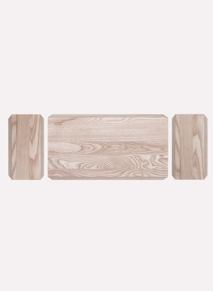 """Objekte unserer Tage Chopping board """"Müller"""" made of ash wood"""