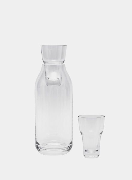 """Objekte unserer Tage Carafe """"Koch"""" made of mouth-blown glas"""