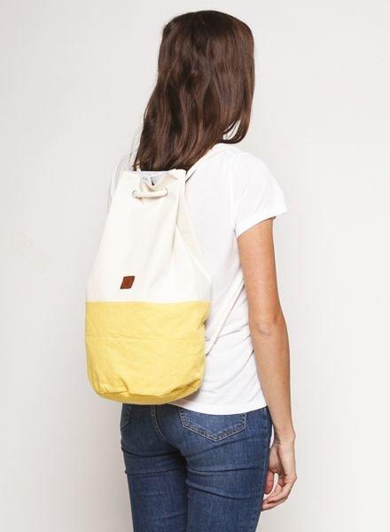 "Marin et Marine Backpack ""Sac Marin"" Yellow"