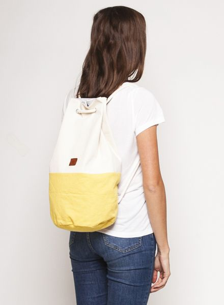 "Marin et Marine Maritime duffel bag ""Sac Marin"" made of 100% organic cotton"