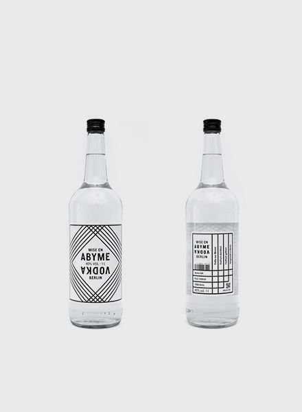 "Mise en Abyme Vodka ""Mise en Abyme"""