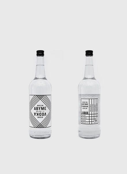 """Mise en Abyme Vodka """"Mise en Abyme"""" - Local high-quality Vodka"""