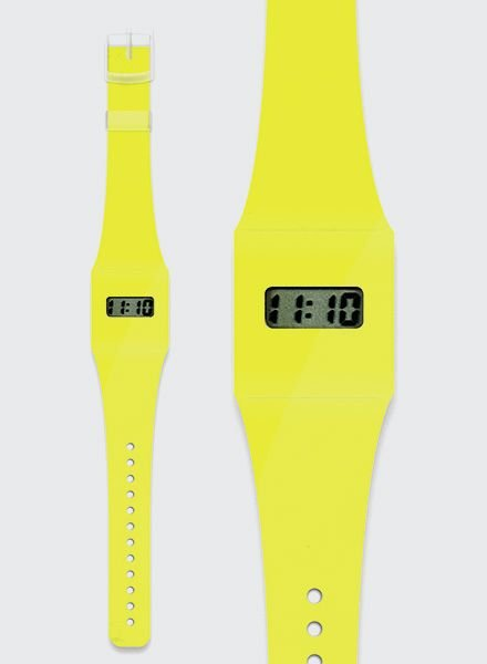 "I like Paper PAPPWATCH ""NEON YELLOW"""