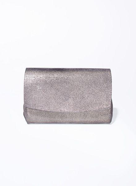 """Matke Geldbeutel Starlight """"Mini Wallet"""" aus feinem italienischem Wildleder mit Glitzer"""