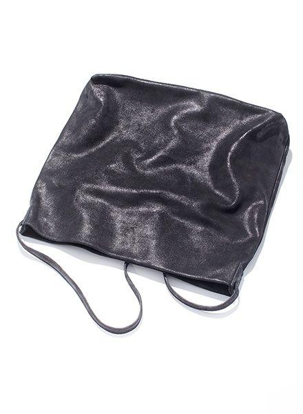 """Matke Leder Tasche """"Starlight""""  mit Glitzer-Veredelung, magnetischem Verschluss und Innentasche"""
