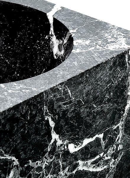 "Fundamental Ashtray ""Kugel"" - Bowl made of marble"