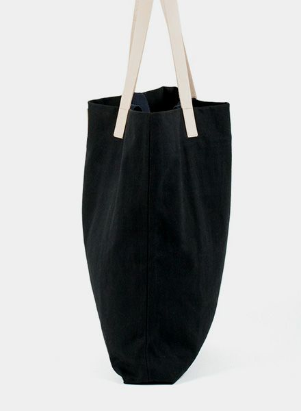 "Marin et Marine Handle Bag ""Nuit"" made of 100% organic cotton"