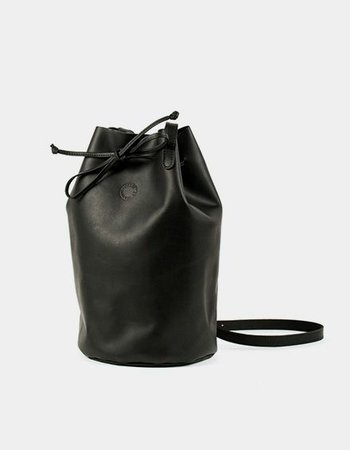 "Marin et Marine ""BUCKET BAG BLACK"""