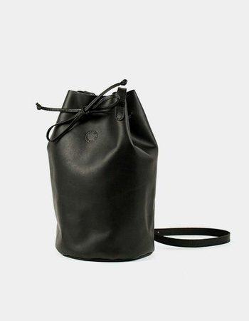 """Marin et Marine Tasche """"Bucket Bag Black"""""""