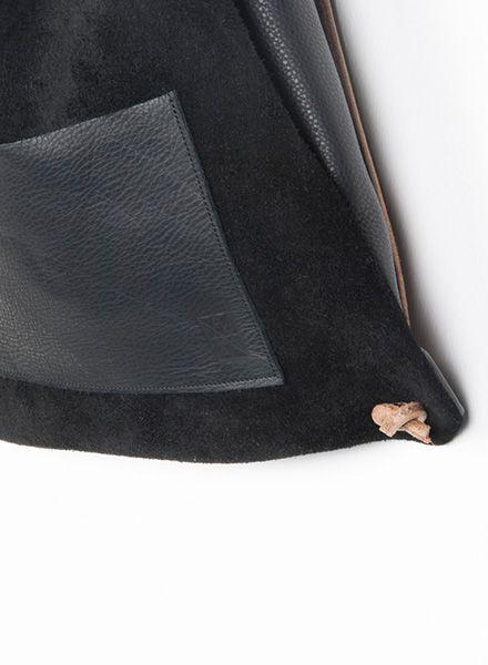Hevan Rucksack von Hevan aus vegetabil gegerbtem Rindsleder