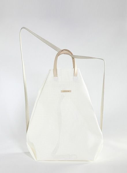 "Hänska Backpack ""Moire White"""