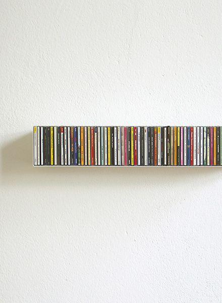 "Linea1 CD Regal ""Linea1_b"" - Regal aus feuerverzinktem Stahl"