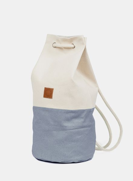 "Marin et Marine Maritime Backpack ""Sac Marin Gallet"" made of 100% organic cotton"