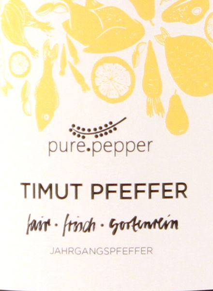 "Pure Pepper Pepper ""Pure Pepper"" - various flavours - handpicked - sundry - natural"