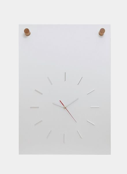 Fundamental Poster clock