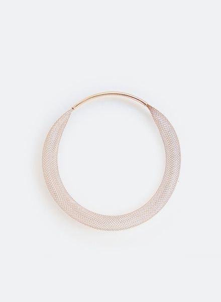 """SIBYLAI Bracelet """"Mesh Copper"""""""