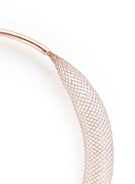 "SIBYLAI Armreif ""Mesh Copper"" erhältlich in 2 Varianten: Kupfer oder Messing"
