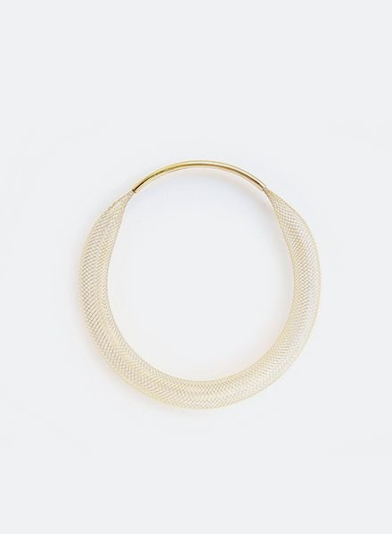 "SIBYLAI Bracelet ""Mesh Brass"""