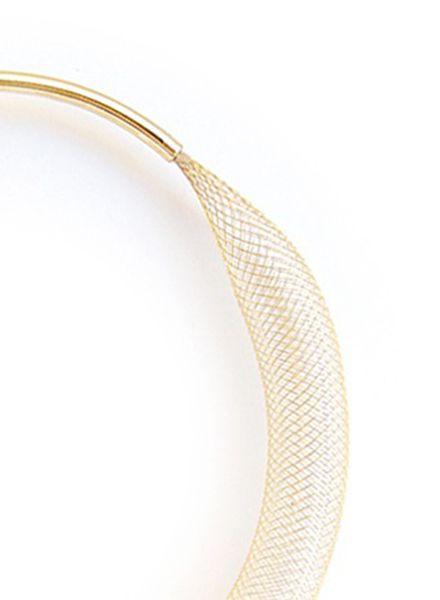 "SIBYLAI Armreif ""Mesh Brass"" erhältlich in 2 Varianten: Kupfer oder Messing"