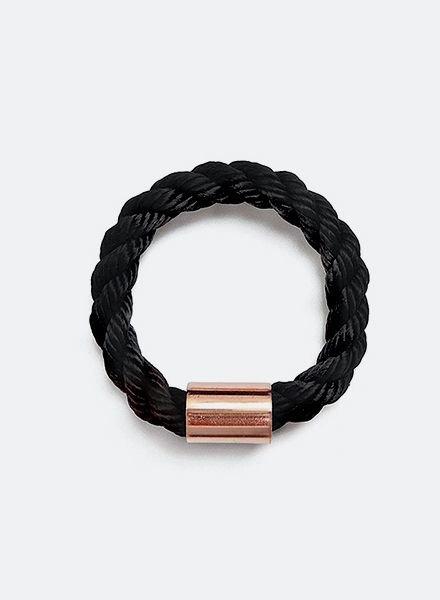 "SIBYLAI Armreif ""Copper Bold Black"""