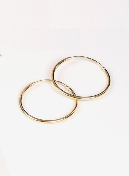"Jukserei Earring ""Hoops"" Gold"