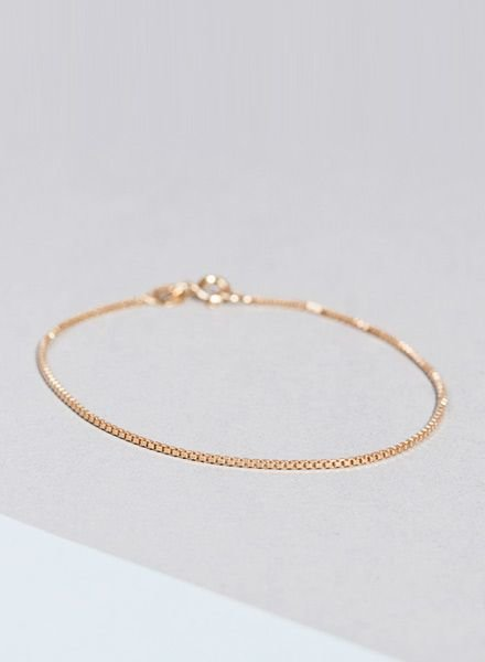 "Jukserei Bracelet ""Smooth"" Gold"