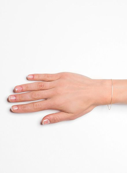"""Jukserei Armband """"Smooth"""" Gold - hergestellt aus 925er Silber vergoldet mit 24 Karat"""