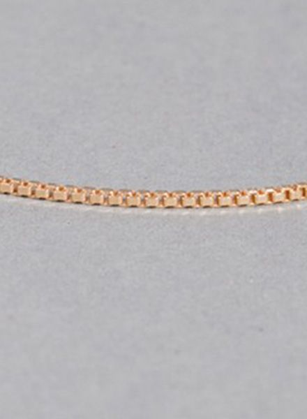 "Jukserei Bracelet ""Smooth"" Gold is made of 925 sterling silver, 24k gold plated"