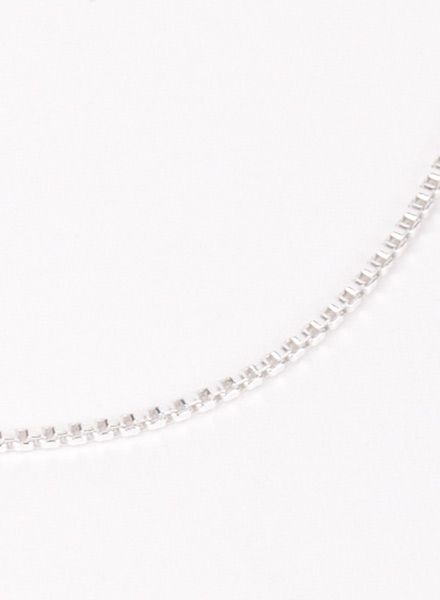 "Jukserei Bracelet ""Smooth"" Silver is made of 925 sterling silver"