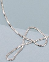 "Jukserei Necklace ""Smooth"" Silver"