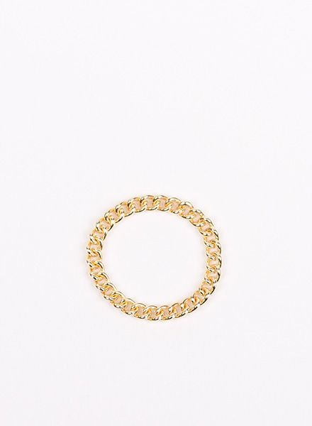 "Jukserei Chain ring ""Grumetta"" Gold"